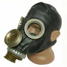 More details for russian  gas mask gp-5m black & carry bag chernobyl rare mask speech diaphragm