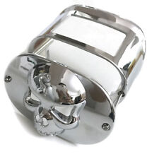 Chrome Tail Lamp Collar cover For Harley Davidson Dyna Eletra Glide Night Train
