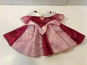 Build A Bear BAB Disney Princess Aurora Sleeping Beauty Dress Outfit