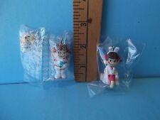 "Peko Chan 2""in Mini Figure Doll  Cute girl w/ a friend and a Puppy! New w/ Box"