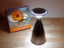 LED Engelsleuchte Leuchte Tischleuchte Lampe anthrazit mit 3-fach Touch-Dimmer