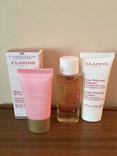 Clarins Lotion Tonique Toning Lotion 50ml+Multi-Active Jour SPF 20 15ml+Cleanser