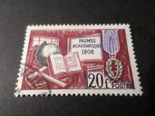 FRANCE 1959 timbre 1190, PALMES ACADEMIQUES, oblitéré, VF STAMP
