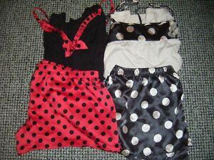 Bundle pyjamas size 14 elasticated shorts cool summer sleeveless