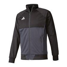 adidas Tiro 17 Trainingsjacke schwarz grau 2xl