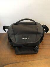 Sony Soft Carrying Case LCS U21 Camera Case Bag LSC-U21 Adjustable Strap- NO BOX
