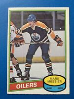 Mark Messier Rookie 1980-81 O-Pee-Chee Hockey Card #289 OPC Edmonton Oilers