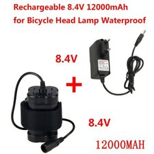 8.4V 12000mAh 4x18650 batterie Ricaricabile+Caricabatterie per BICI fanale fari