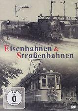 EISENBAHNEN & STRASSENBAHNEN - DVD - NEU