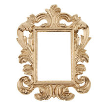 Resin Baroque Photo Picture Frame Wall Door Frame Home Decorations Rectangle