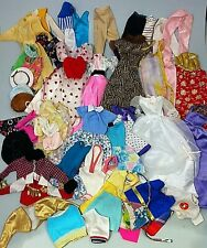 Large selection of vintage Barbie clothing & accessories including black label