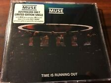 MUSE RARE Australian Only Time Is Running Out Enhanced CD Single Limited Edition