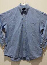 Mens Bmw Lifestyle Long Sleeve Dress Shirt Size Xl Button Down Blue Pocket