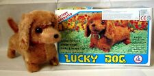"""AUTOMATE A BATTERIE - CHIEN """" LUCKY DOG AVEC BOITE """"- FONCTIONNE - MADE IN CHINA"""