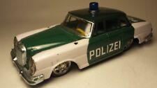 Blechspielzeug Mercedes 250 Polizei Japan SSS sehr hübsch ca. 60er Jahre