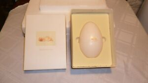 Anne Geddes 2001 Newborn Yellow Bunny Baby in Egg, Original Box, Excellent Cond.