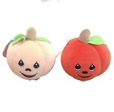 Precious Moments Tender Tails Plushkins Pumpkins Set Of 2