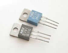 2SB536 + 2SD381 TRANSISTOR NEC NPN + PNP NEW Oryginal NOS [1 PAIR.]
