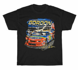 Vintage Jeff Gordon NASCAR Gildan T-Shirt 2000 Size S-3XL Racing Cars TK1096