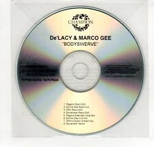 (GP392) De'Lacy & Marco Gee, Bodyswerve - 2008 DJ CD