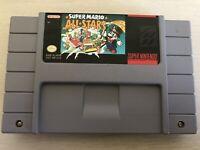 Super Mario All Stars Super Nintendo SNES Video Game Authentic