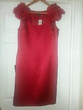NWT 240.00$ AnnTayler Metalic Red Dress size 8P