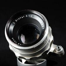 Carl ZEISS JENA BIOTAR 58mm f/2.0 en Exakta Montaje