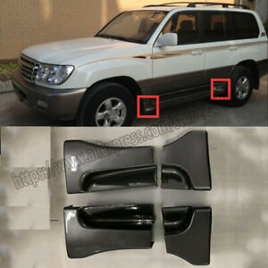 Fit Toyota Land Cruiser LC100 98-07 Side pedal wrap angle Side Lip Molding cover