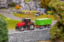"""FALLER HO 161588 CS """"Tractor MF con hachschnitzelanhänger """"Novedad 2015"""