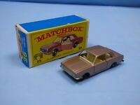 MATCHBOX LESNEY NO 25 FORD CORTINA LIGHT BROWN TAN FACTORY ERROR DEFECT TOY CAR