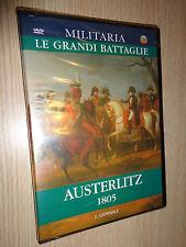 DVD N°7 MILITARIA LE GRANDI BATTAGLIE AUSTERLITZ 1805