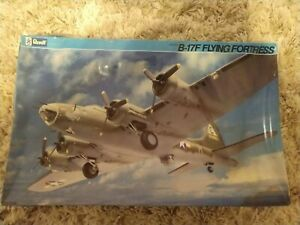 Revell Boeing B-17F FLYING FORTRESS 1/48 Scale Model Kit