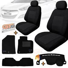 Hyundai i30 GD HATCH SEAT COVERS + Floor Mats + DASH MAT BUNDLE 02/2012-2016