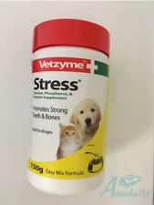 VETZYME STRESS DOG & CAT - 150g multi-mineral & vitamin Sup Strong Teeth & Bones