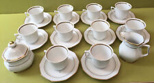 SERVICE A CAFE 10 TASSES + SOUCOUPES POT SUCRIER WINTERLING MARKTLEUTHEN BAVARIA