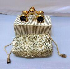 Antique OPERA GLASSES, Binoculars Onix with original Bag and Box
