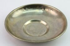 Vintage German Silver Made Breakfast Plate Kitchen Décor Collectible. G26-85 US