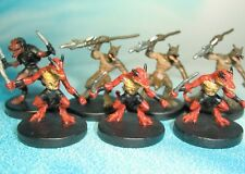 Dungeons & Dragons Miniatures Lot  Kobold Fighter Kobold Guard !!  s123