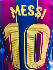 Nike Fc Barcelona Messi #10 Home 20-21 Navy Red Jersey Size 3XL Men's Only