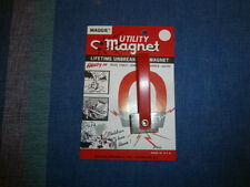 Vintage Maggie Magnetic Inc Utility Magnet - Home, Auto, Office, Sewing Kit