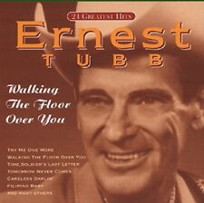 ERNEST TUBB - WALKING THE FLOOR OVER YOU   CD NEW!