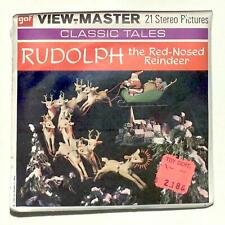 Sealed 1955 Gaf view master ClassicTales Rudolph The Red Nosed Reindeer reel set