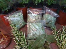 Handmade Bath salts of Rue, Rosemary and Laurel 250g. FOR RUE (RUDA)