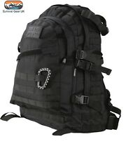 BLACK SPEC OPS PACK 45 LITRE BAG RUCKSACK MOLLE  Military backpack Army