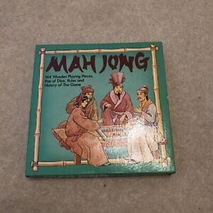Vintage Mahjong Mah Jong Set, Complete Set in Case.