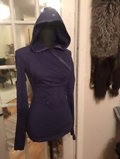 Lululemon  Size 4 Run For Your Life Long Sleeve Thumb Hole Hoodie Top