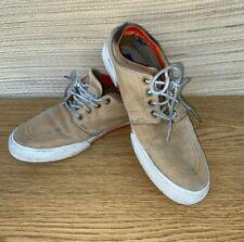 Men'S Tan Ralph Lauren Casual Shoes Size 9.5