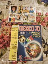 MEXICO 70 ALBUM CALCIATORI PANINI,EDIZ.ITALIANA+SET FIGURINE ed.74