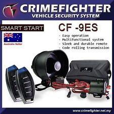 New CRIMEFIGHTER CF-9 Remote Keyless Entry One Way Car Alarm System Remote Start