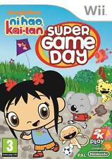 Ni Hao Kai Lan Super Game Day Nintendo Wii PAL AS New (Disc is Brand New)